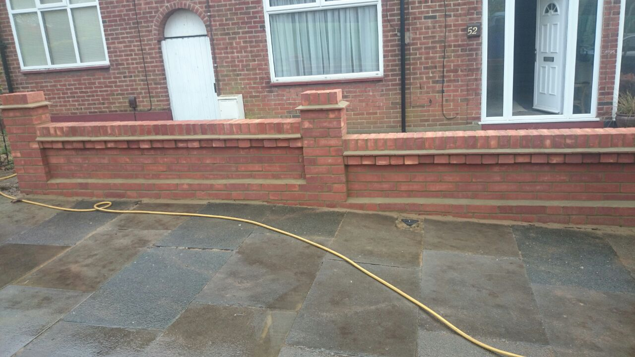 Flawless Landscaping Brick Walls